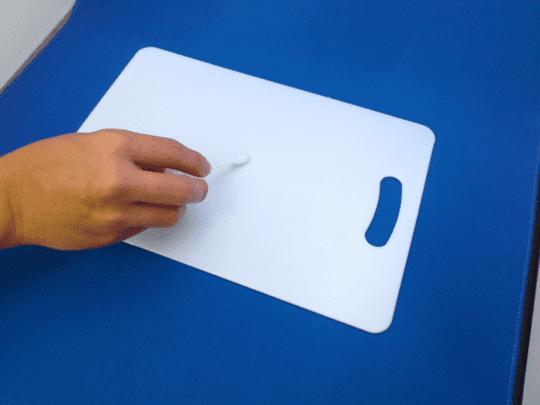まな板の ふきとり検査 方法例